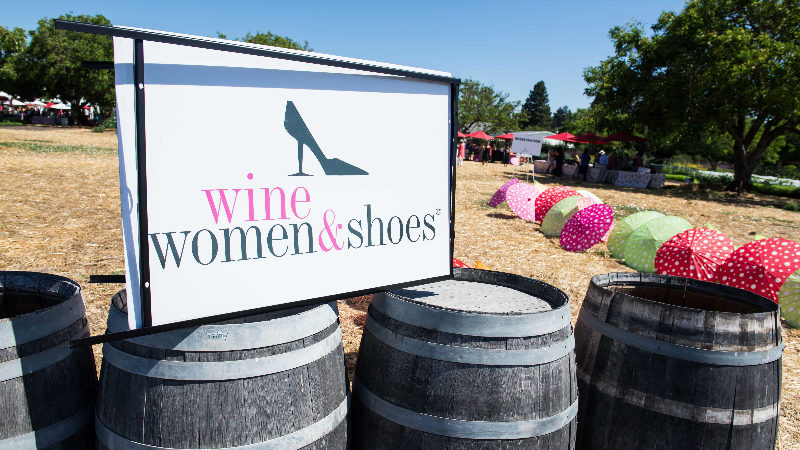 Wine, Women & Shoes Benefit