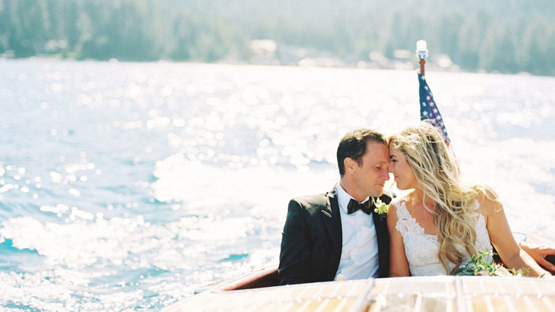 Quintessential Tahoe Summer Wedding, Allie & Nick