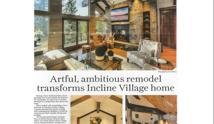 Artful, ambitious remodel transforms Incline Village home