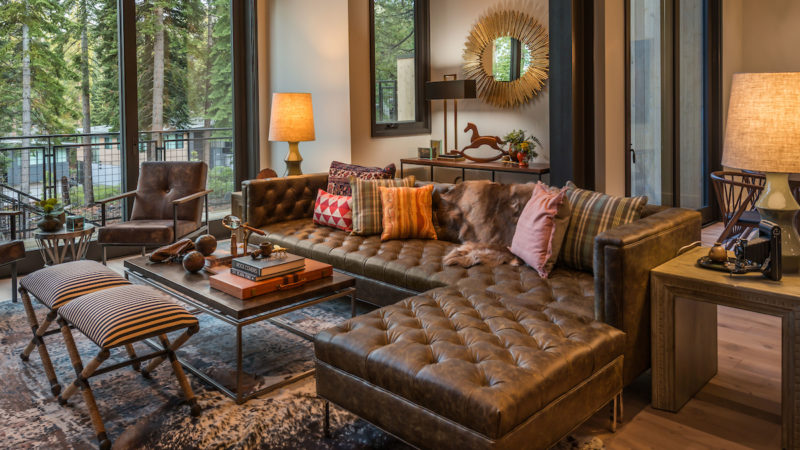 Mountainside, Boulder's Chutes Model Home, Northstar, California